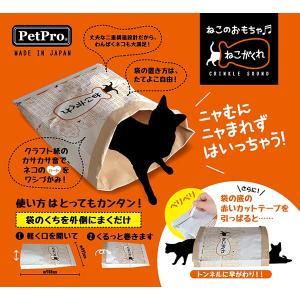 [ペットプロ]PetPro ねこのおもちゃ ねこがくれ 4981528859904 #w-15250...