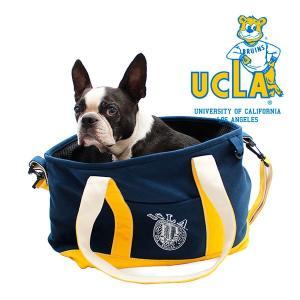 【最大92%オフ!猫の日限定セール☆】UCLA カレッジ トートバッグ ボストンバッグ ブラック/UCLA DOG CARRY TOTE BAG 1096dog
