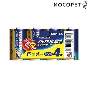 東芝 自動給餌器専用電池 単2アルカリ電池 4本パック LR14AG 4MP 単2 #w-153250|1096dog