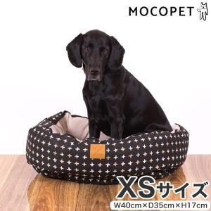 mog&bone 4シーズンズ リバーシブル丸型ベッド XSサイズ ブラックメタリック / 猫 犬 ベッド 0797776310180 #w-157800-00-00|1096dog