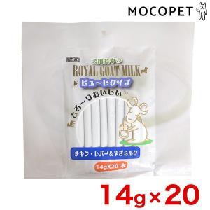 [ペットプロ]PetPro ロイヤルゴートミルク 犬 ピューレタイプ チキン・レバー&やぎミルク 1...