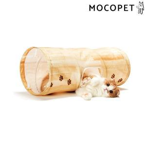 猫壱 キャットトンネル 木目柄 / 猫 おもちゃ 4580471863770 #w-160381-0...