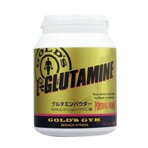 GOLD'S GYM(ゴールドジム)グルタミンパウダー 500g|109oasis