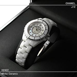 シャネル(CHANEL)時計 J12 白セラミック 33mm...