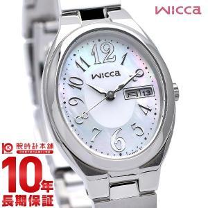 ウィッカ シチズン wicca CITIZEN ソーラー  レディース 腕時計 KH3-118-91 10keiya