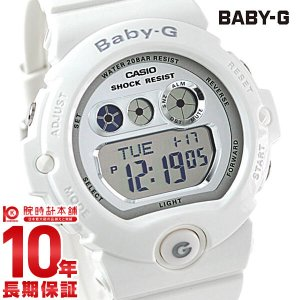 BABY-G ベビーG カシオ CASIO ベビージー シルバー×ホワイト   レディース 腕時計 BG-6900-7JF(予約受付中) 10keiya