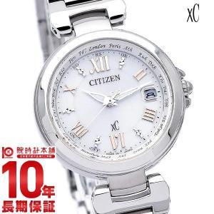 クロスシー シチズン XC CITIZEN ハッピーフライト ワールドタイム  レディース 腕時計 ...