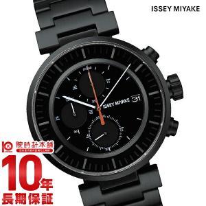 今ならポイント最大20倍 イッセイミヤケ ISSEYMIYAKE W ダブリュ クロノグラフ 和田智デザイン  メンズ 腕時計 SILAY002|10keiya