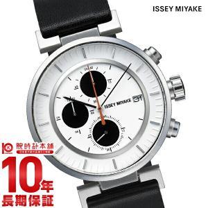 今ならポイント最大20倍 イッセイミヤケ ISSEYMIYAKE W ダブリュ クロノグラフ 和田智デザイン  メンズ 腕時計 SILAY003|10keiya
