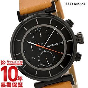 今ならポイント最大20倍 イッセイミヤケ ISSEYMIYAKE W ダブリュ クロノグラフ 和田智デザイン  メンズ 腕時計 SILAY006|10keiya