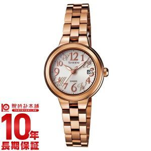 カシオ シーン CASIO SHEEN ソーラー  レディース 腕時計 SHE-4506SBG-9AJF(予約受付中)|10keiya