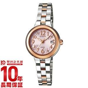 カシオ シーン CASIO SHEEN ソーラー  レディース 腕時計 SHE-4506SBS-4AJF(予約受付中)|10keiya