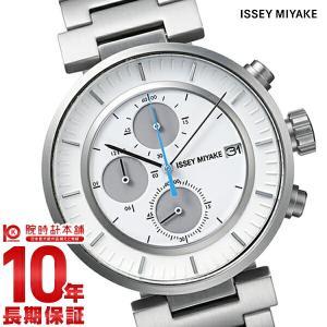 今ならポイント最大20倍 イッセイミヤケ ISSEYMIYAKE Wダブリュクロノグラフ和田智デザイン  メンズ 腕時計 SILAY007|10keiya