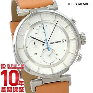 今ならポイント最大20倍 イッセイミヤケ ISSEYMIYAKE Wダブリュクロノグラフ和田智デザイン  メンズ 腕時計 SILAY008|10keiya