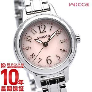 シチズン ウィッカ ソーラーテック KH9-914-91 wicca レディース 腕時計(2018年...
