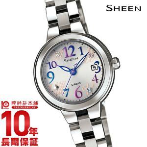 カシオ シーン CASIO SHEEN ソーラー  レディース 腕時計 SHE-4506SBD-7A2JF(予約受付中) 10keiya