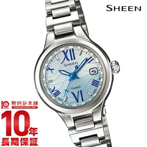 カシオ シーン CASIO SHEEN ボヤージュ ソーラー電波  レディース 腕時計 SHW-1700D-2AJF(予約受付中)|10keiya