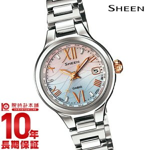 カシオ シーン CASIO SHEEN ボヤージュ ソーラー電波  レディース 腕時計 SHW-1700D-7AJF(予約受付中)|10keiya