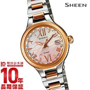 カシオ シーン CASIO SHEEN ボヤージュ ソーラー電波  レディース 腕時計 SHW-1700SG-4AJF(予約受付中)|10keiya