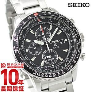 セイコー プロスペックス スカイプロフェッショナル パイロット ソーラー 100m防水 SBDL029|10keiya
