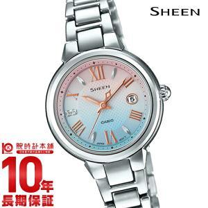 カシオ シーン CASIO SHEEN ソーラー  レディース 腕時計 SHE-4516SBJ-7CJF(予約受付中) 10keiya