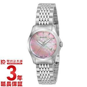 今ならポイント最大20倍 グッチ GUCCI   レディース 腕時計 YA126532|10keiya