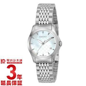 今ならポイント最大20倍 グッチ GUCCI   レディース 腕時計 YA126533|10keiya