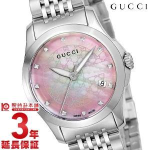 今ならポイント最大20倍 グッチ GUCCI   レディース 腕時計 YA126534|10keiya