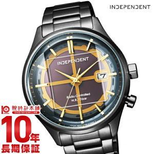 今ならポイント最大20倍 インディペンデント INDEPENDENT INNOVATIVE line 20周年記念モデル ソーラー電波  メンズ 腕時計 KL8-449-51|10keiya