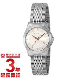 今ならポイント最大20倍 グッチ GUCCI Gタイムレス  レディース 腕時計 YA126565|10keiya