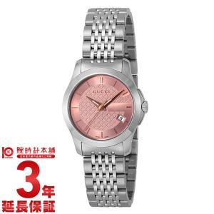 今ならポイント最大20倍 グッチ GUCCI Gタイムレス  レディース 腕時計 YA126566|10keiya
