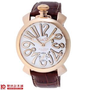 今ならポイント最大20倍 ガガミラノ GaGaMILANO マヌアーレ 48mm  メンズ 腕時計 5011.08S-BRW|10keiya
