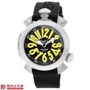 今ならポイント最大20倍 ガガミラノ GaGaMILANO ダイビング 48mm  メンズ 腕時計 5040.2-BLKRUBBER|10keiya