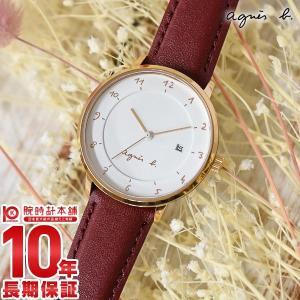 今ならポイント最大20倍 アニエスベー agnes b.   レディース 腕時計 FBSK945 10keiya