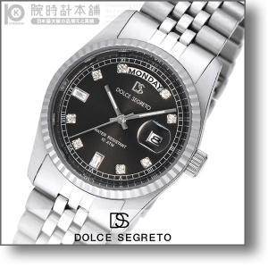 最大26倍 24日25日26日限定 ドルチェセグレート DOLCESEGRETO ドレス  メンズ 腕時計 OP300BK|10keiya