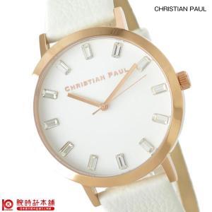 クリスチャンポール christianpaul ホワイトヘブン ルゥクス  レディース 腕時計 SW-03|10keiya