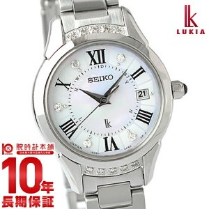 『1000円割引クーポン』セイコー ルキア LUKIA ルキアヤセ 綾瀬はるか限定モデル SSVW115 レディース 腕時計|10keiya