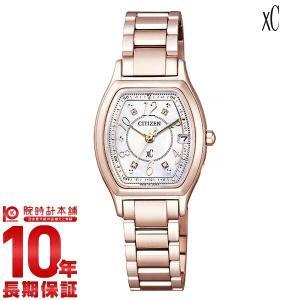 シチズン クロスシー XC 限定モデル 限定3700本 限定BOX付 ES9356-55W  レディース 腕時計(2017年12月20日入荷予定)|10keiya