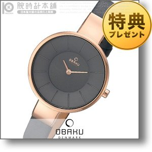 オバック OBAKU SOL PEBBLE  レディース 腕時計 V149LXVJRJ|10keiya