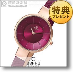オバック OBAKU SOL CHERRY  レディース 腕時計 V149LXVQRD|10keiya