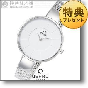 オバック OBAKU SOL STEEL  レディース 腕時計 V149LXCIMC|10keiya