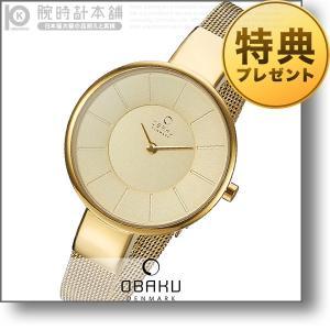オバック OBAKU SOL GOLD  レディース 腕時計 V149LXGGMG|10keiya