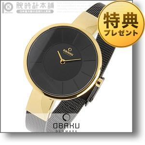 オバック OBAKU SOL MEDALLION  レディース 腕時計 V149LXGBMB|10keiya