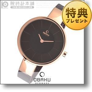 オバック OBAKU SOL WALNUT  レディース 腕時計 V149LXVNMN|10keiya