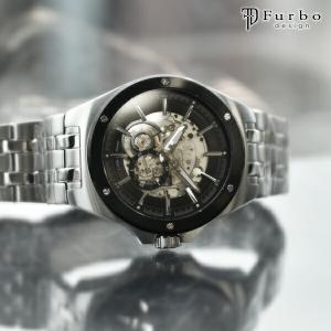 【5日店内最大31%戻ってくる!】 フルボデザイン Furbo   メンズ 腕時計 F2501BKS...