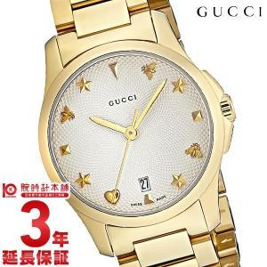 今ならポイント最大20倍 グッチ GUCCI Gタイムレス  レディース 腕時計 YA126576|10keiya