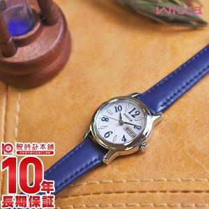 ウィッカ シチズン wicca CITIZEN ソ−ラーテック  レディース 腕時計 KH3-410-10 10keiya