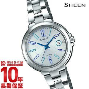 カシオ シーン CASIO SHEEN ソーラー ステンレス  レディース 腕時計 SHW-5100D-7AJF(予約受付中)|10keiya