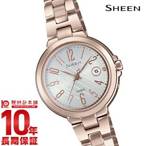 カシオ シーン CASIO SHEEN ソーラー ステンレス  レディース 腕時計 SHW-5100CG-7AJF(予約受付中)|10keiya