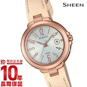 カシオ シーン CASIO SHEEN ソーラー ステンレス  レディース 腕時計 SHW-5100PGL-7AJF(予約受付中)|10keiya